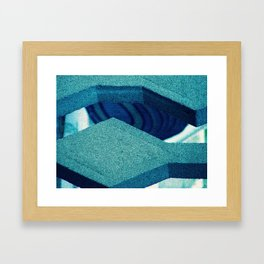 Concrete Jaws Framed Art Print