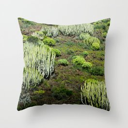Cactus land Throw Pillow