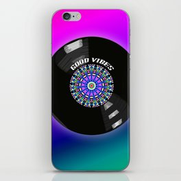 Good Vibes - For vinyl‬ ‎records ‪music lover‬ iPhone Skin