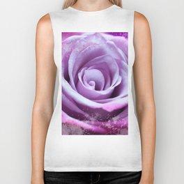 Rose of Love #Pink #Purple #art #society6 Biker Tank