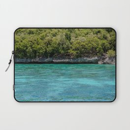 Turquoise Waters of Apo Island Laptop Sleeve