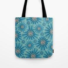 Fractal Flower Pattern Tote Bag