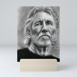 Roger Waters Portrait Mini Art Print