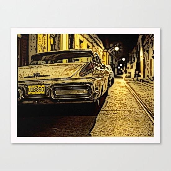 Havanna at night... Canvas Print