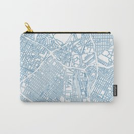 Street MAP Los Angeles // Blue Carry-All Pouch