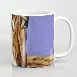 Emmitt the Whippet Dog Portrait Coffee Mug