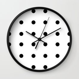 Polka dots Collection Wall Clock