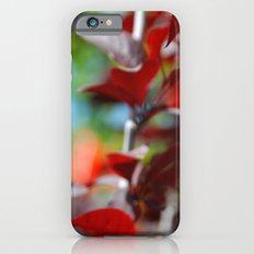 Red leaves Slim Case iPhone 6s