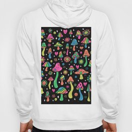 Rainbow Mushrooms Hoody