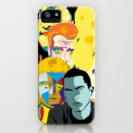 famous wall 2 iPhone Case