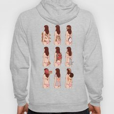 Girl & Pizza Hoody