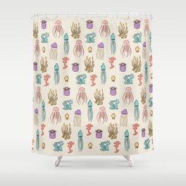 Summer pattern Shower Curtain