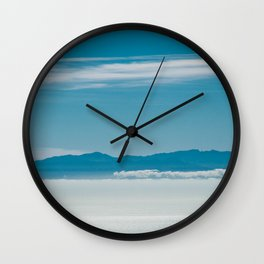 Somewhere Over the Clouds Wall Clock