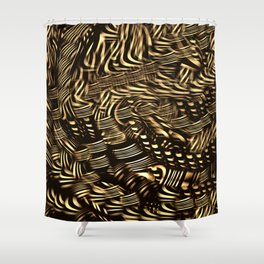 Jewelley Shower Curtain