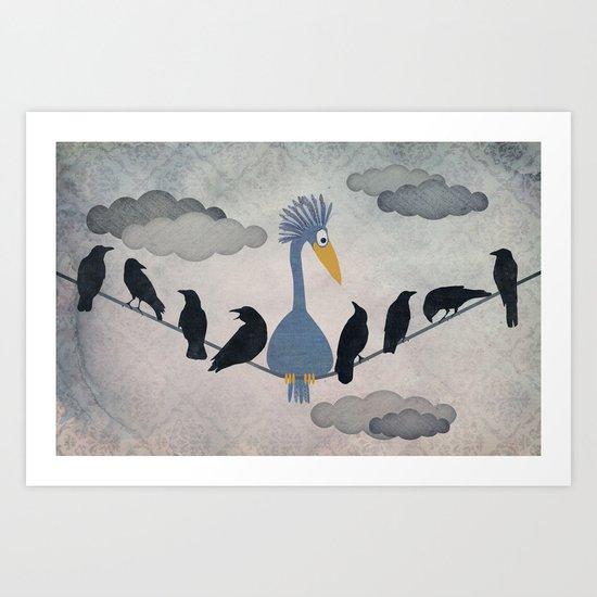 "For ""The Birds"" Art Print"