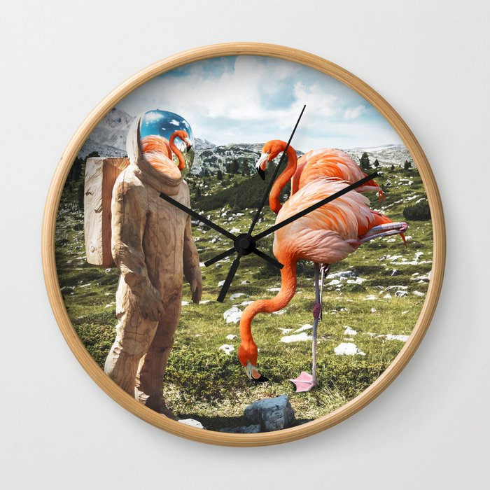 Alternate Reality Wall Clock