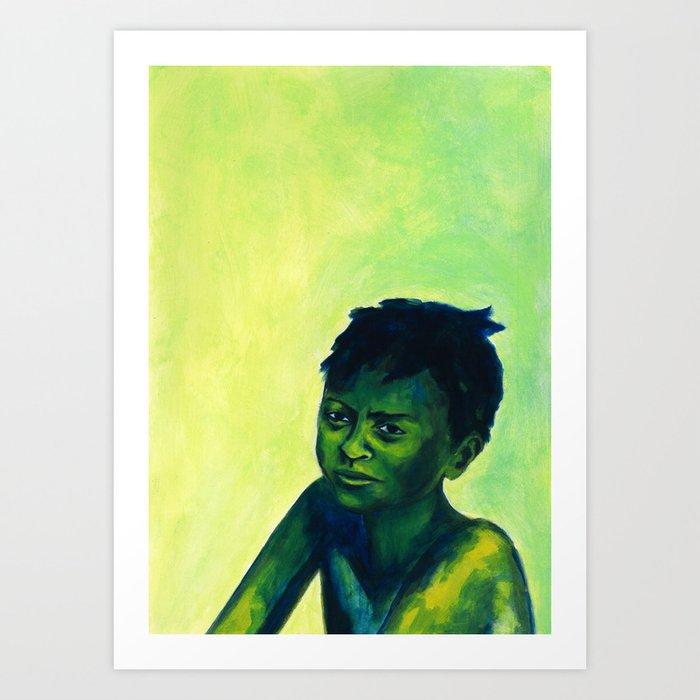 Les attentes 11 Art Print