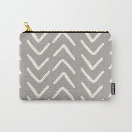 Big Arrows in Grey Carry-All Pouch