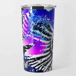 Fossil - Ammonite and Buddleia Travel Mug