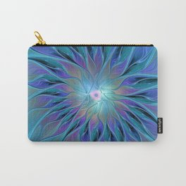 Decorative Flower Fractal Carry-All Pouch