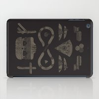 occult iPad Cases featuring Fast Food Occult by Hector Mansilla