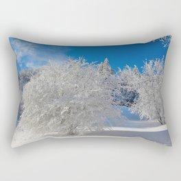 ice sculptures Rectangular Pillow