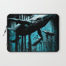 Whale Forest Laptop Sleeve