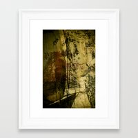 sailboat Framed Art Prints featuring Sailboat by Jean-François Dupuis