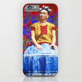FRIDA dreaming away iPhone Case