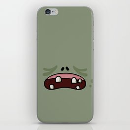 Zoombies Vs Masks iPhone Skin