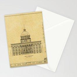 Alabama State Capitol 1851 Stationery Cards