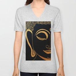 Buddha IV Unisex V-Neck