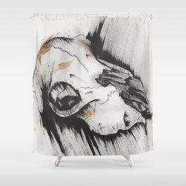 What Remains Shower Curtain