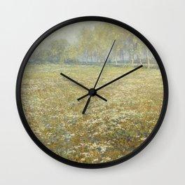 Derk Schaap - Meadow In Bloom Wall Clock