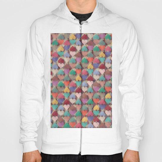 Colorful Love Pattern XI Hoody