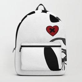 bdsm couple sadomaso mask whip Bunny ears Present Backpack