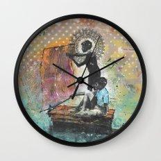 Sobre Agua Wall Clock