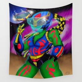 Alien Wear Wall Tapestry