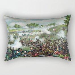 Battle Of Bull Run -- Civil War Rectangular Pillow