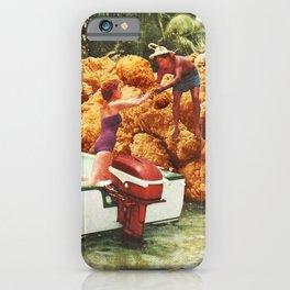 Fried chicken drive-thru iPhone Case