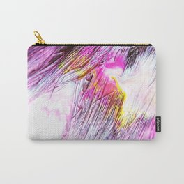 Paintbrush Bristles Macro Photography Carry-All Pouch