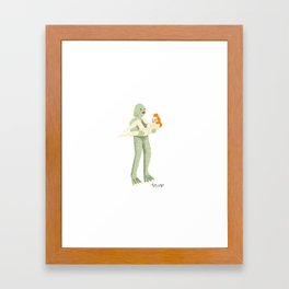 The Creature from Black Lagoon Framed Art Print