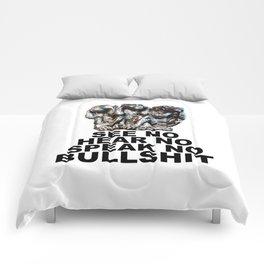 NO BULLSHIT 2 Comforters
