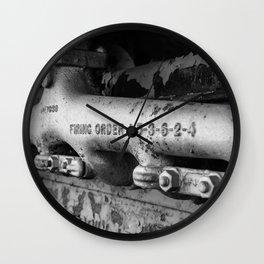 Firing Order Wall Clock