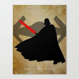 The Dark Lord Canvas Print