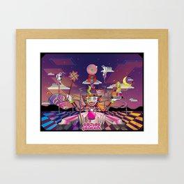 Cosmic Carnival Framed Art Print