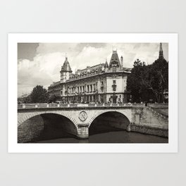 Pont Neuf Paris Art Print