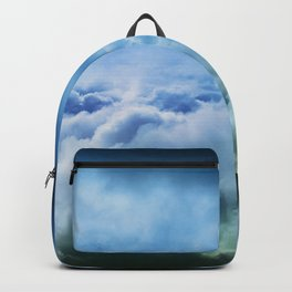 Hopeful Confidence Through the Storm Backpack