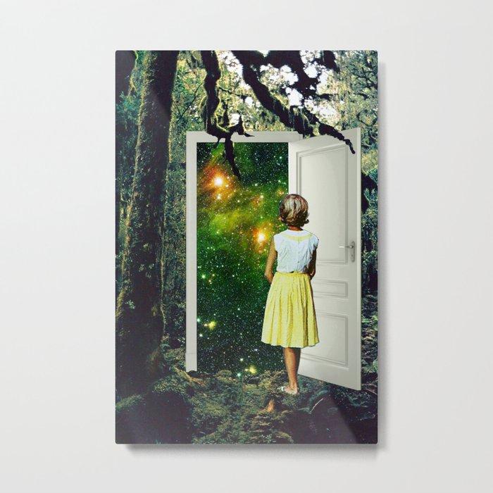 Portal in the Woods Metal Print