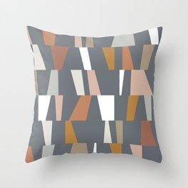 Neutral Geometric 02 Throw Pillow